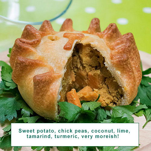 Tamarind Sweet Potato Vegan Vork Pie