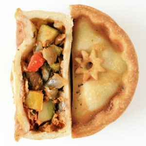 The Mediterranean Vegan Vork Pie
